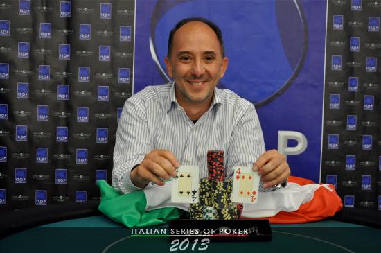 """Max Forti, vincitore del """"Side event turbo"""""""