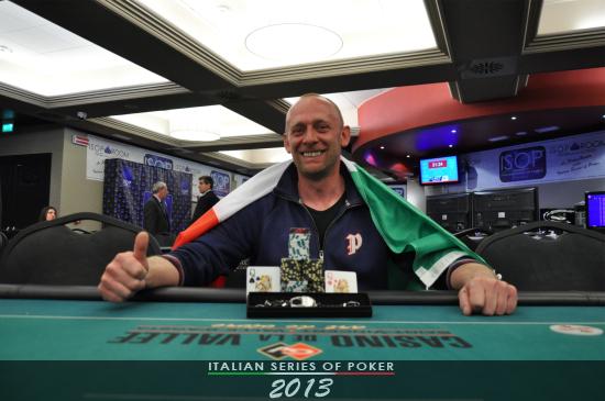 Sandro Moscardin, vincitore del side #6