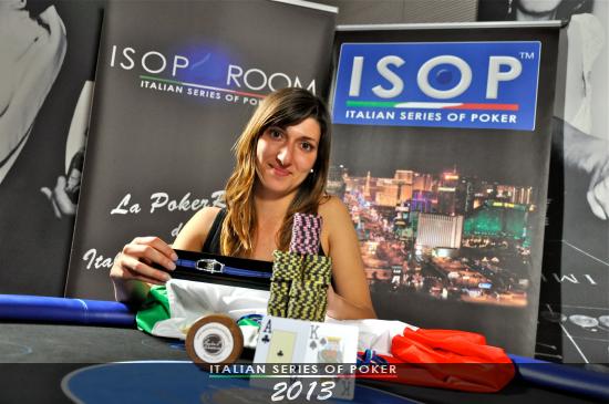 Veronica Signorini, vincitrice del Ladies Event