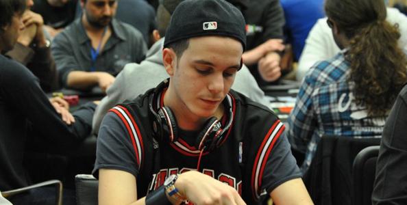 Luca Stevanato, giocatore di poker padovano