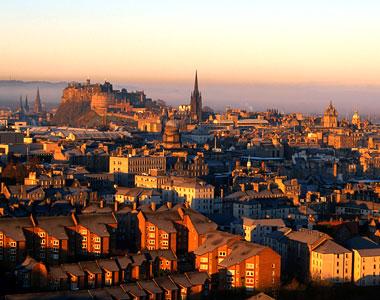 Uno scorcio di Edimburgo