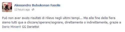 Alessandro Bubukonan Fasolis su Minieri