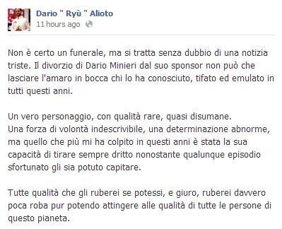 Dario   Ryù   Alioto su Minieri