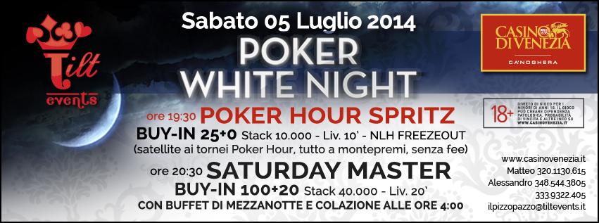 Poker White Night Tilt Events