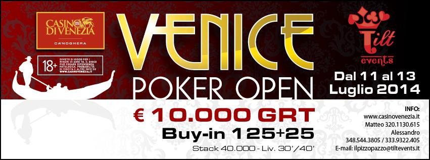 Venice Poker Open Tilt Events