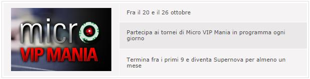 Micro VIP Mania