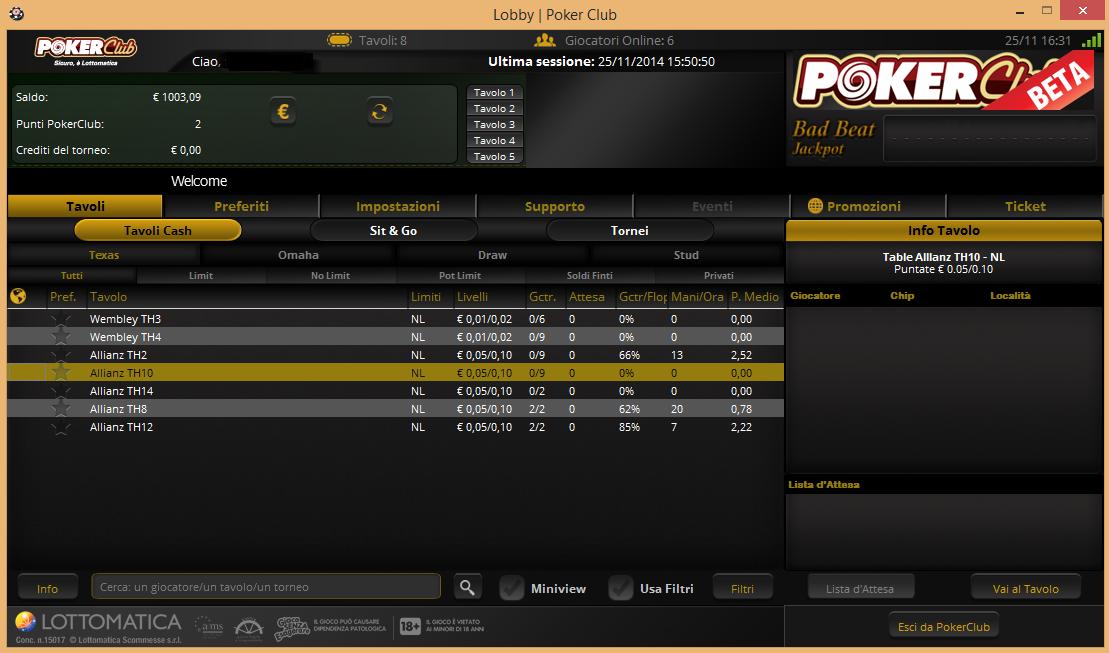 Homepage beta pokerclub