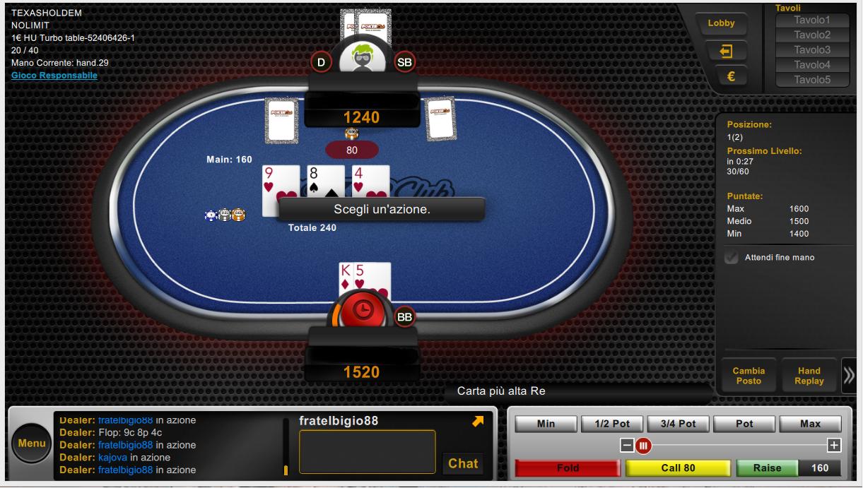 Immagini di gioco software beta pokerclub