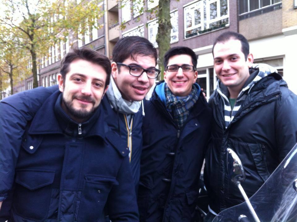 Musta in compagnia di Andrea Dato, Dario De Paz e Alessandro Chiarato