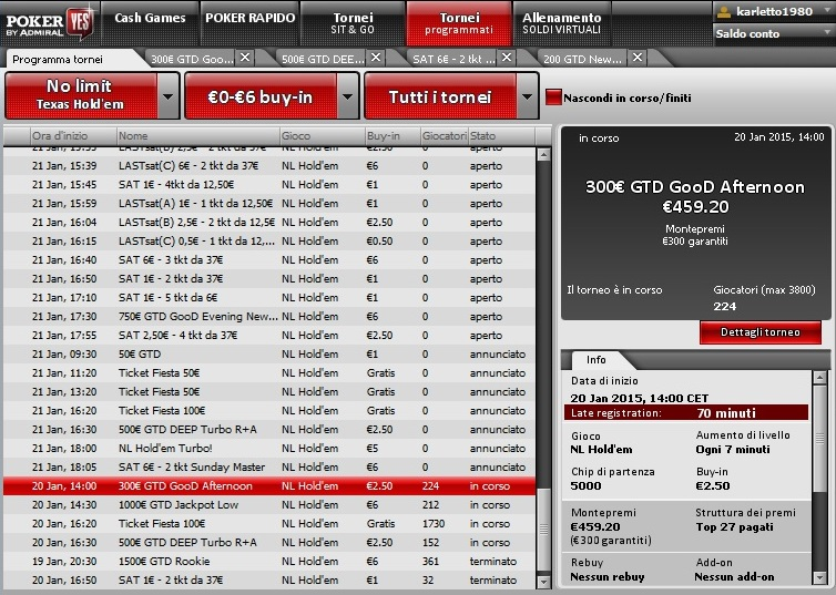 poker yes lobby