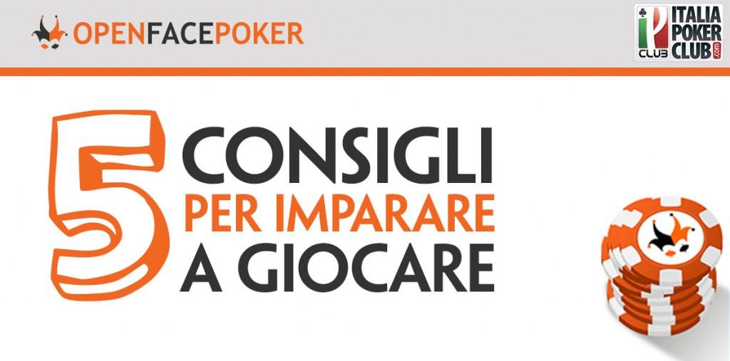 Consigli per il poker online