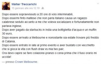 screen treccarichi aussie million