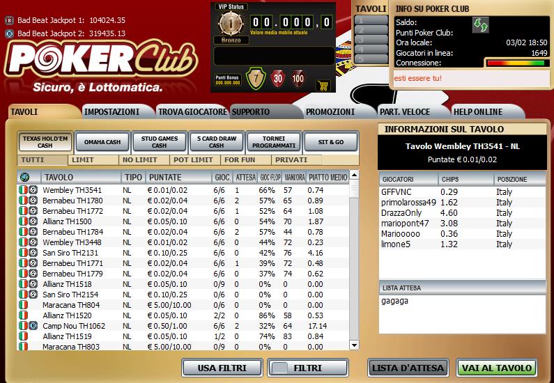 poker clublo