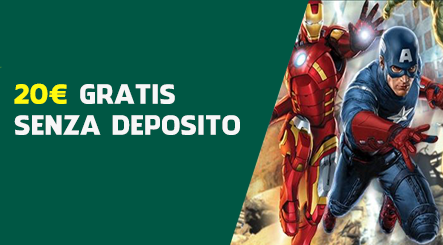 Paddy power 20 euro senza deposito