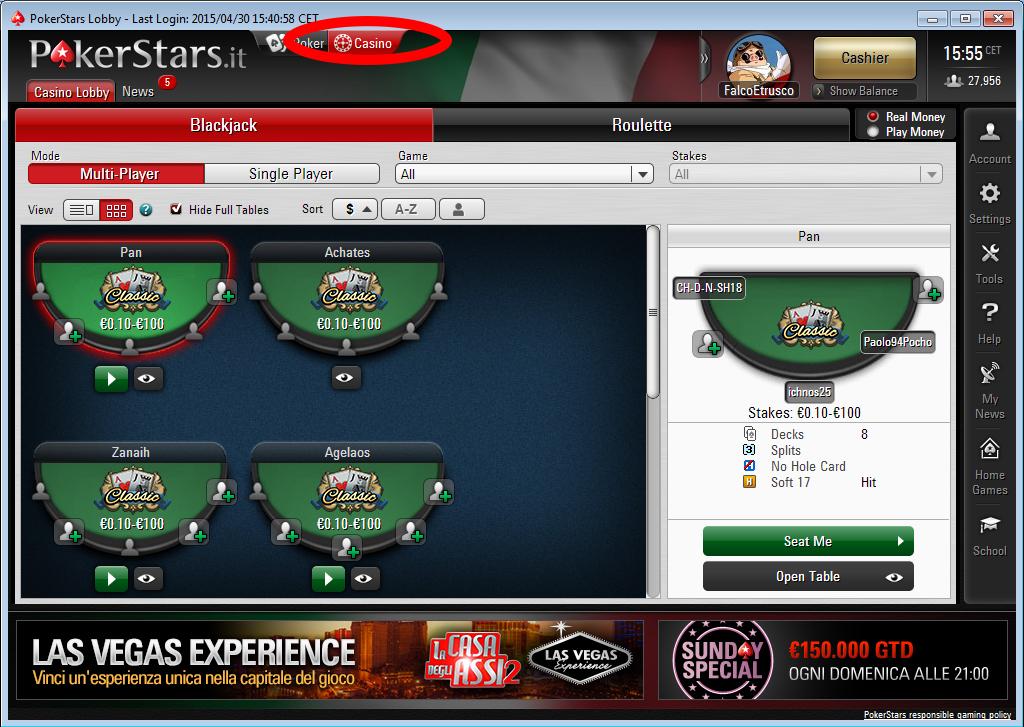 casino pokerstars screen lobby
