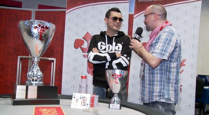 giovanni saporita vince tilt poker cup