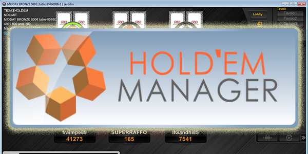 Holdem manager 2 lottomatica
