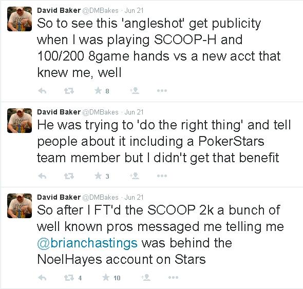 Baker tweet