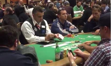 asso mazzo dealer cheating main wsop