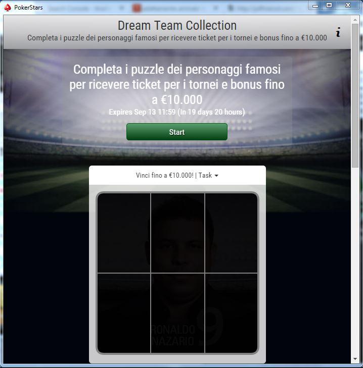 pokerstars dream team promo
