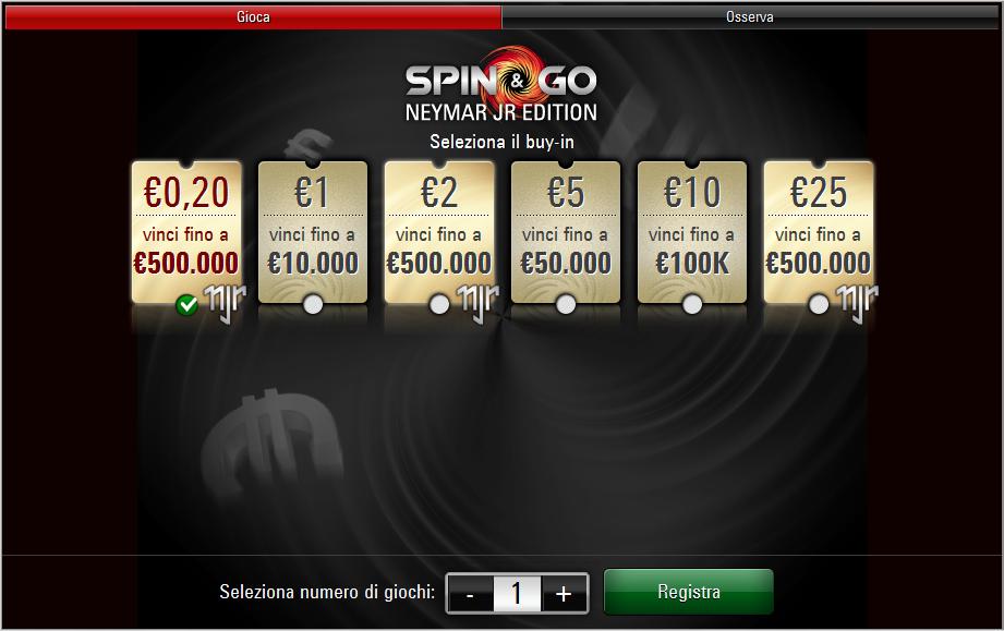 spin and go neymar