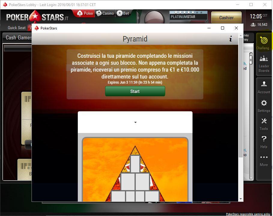 pyramid promo pokerstars
