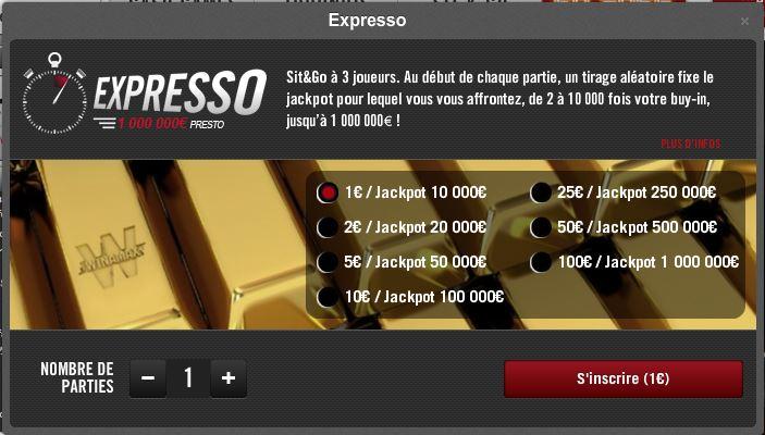 winamax espresso