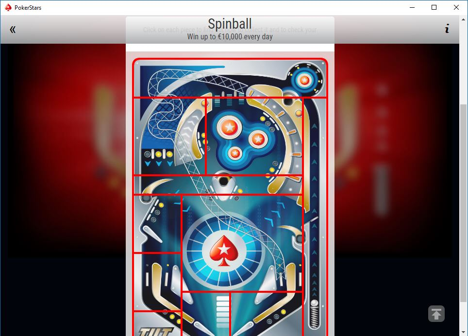 screen spinball pokerstars