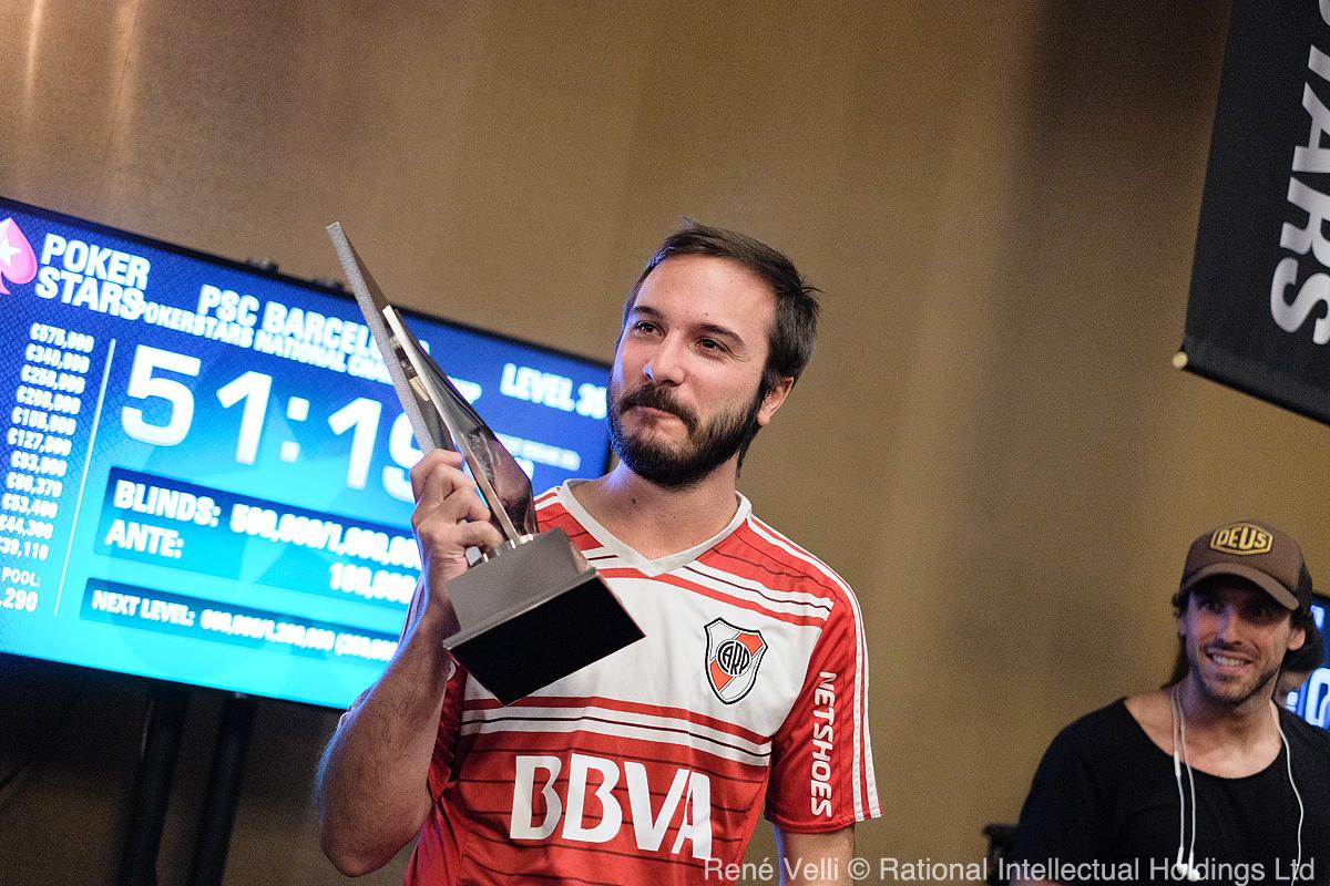 Pedro Cairat vince pokerstars national championship barcellona