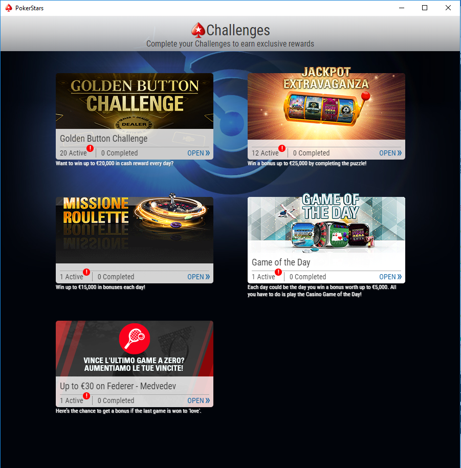 golden button challenge pokerstars