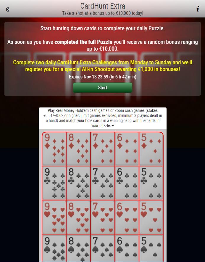 card hunt extra carte collezionare
