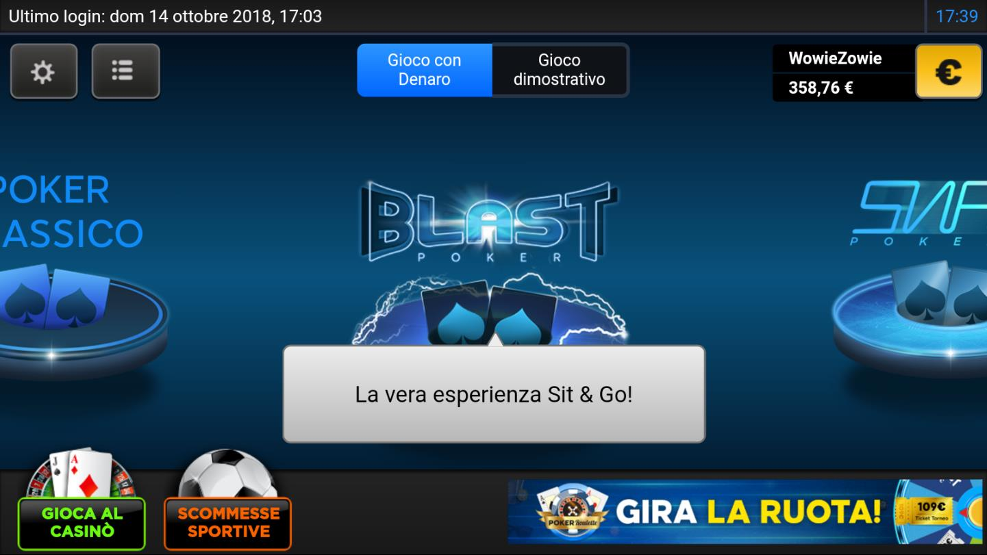 recensione 888poker android lobby
