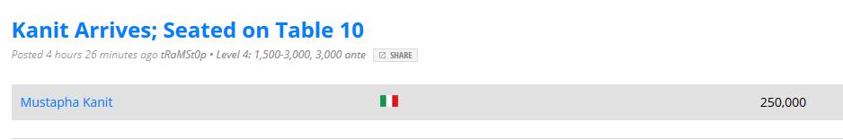 update blog pokernews arrivo kanit 100au challenge