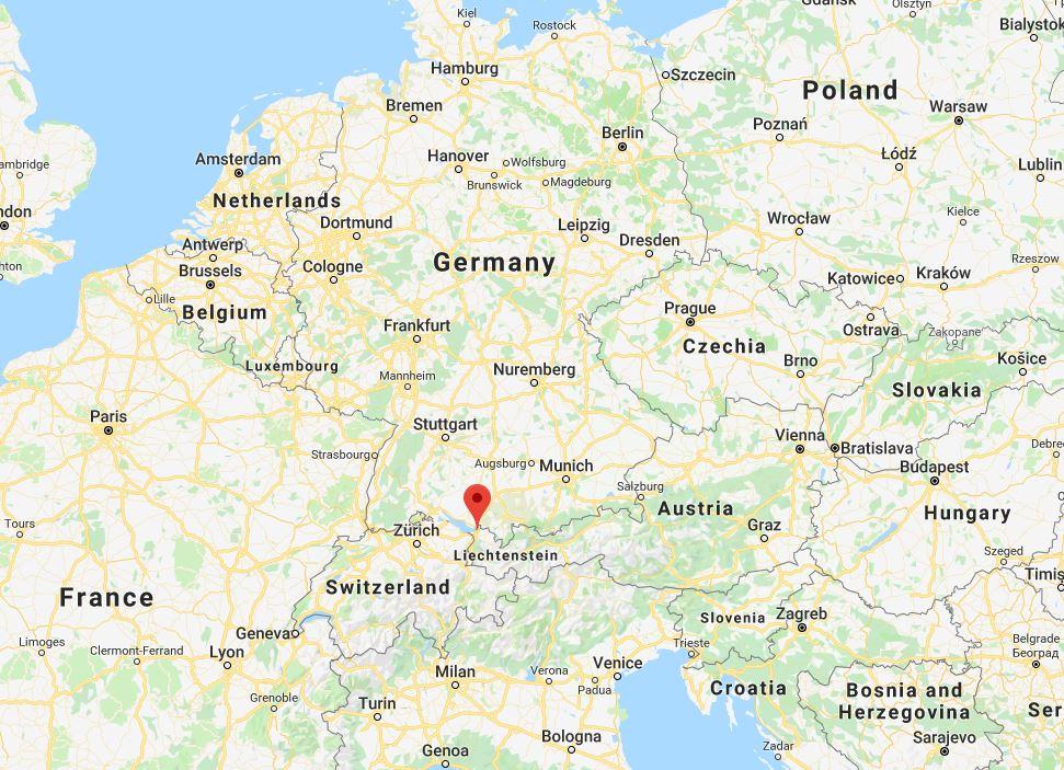 bregenz mappa