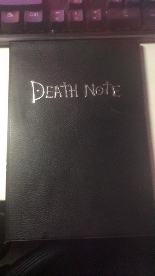death note quaderno pichierri