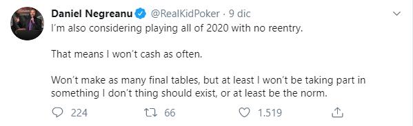 daniel negreanu comandamento pokeristico 2020