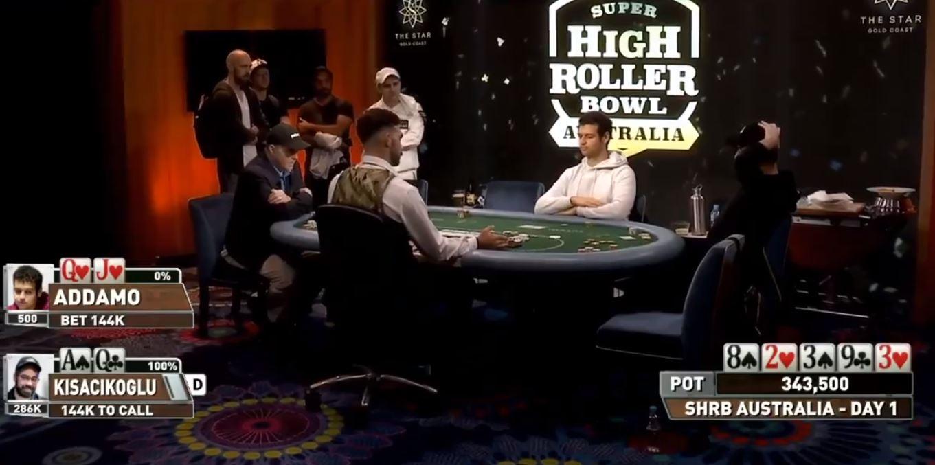 tavolo sceriffata super high roller bowl australia