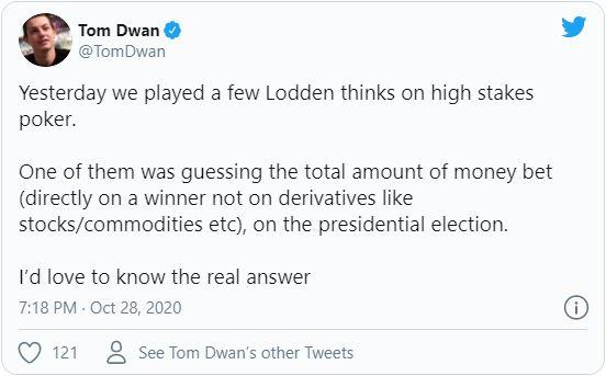 tom dwan tweet johnny lodden high stakes poker